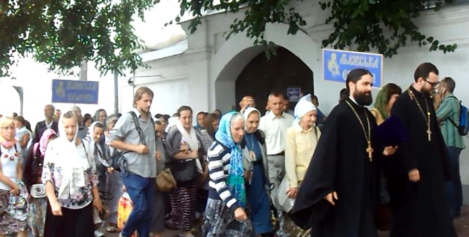 Львовская епархия на торжествах в Киеве. Информация обновлена: