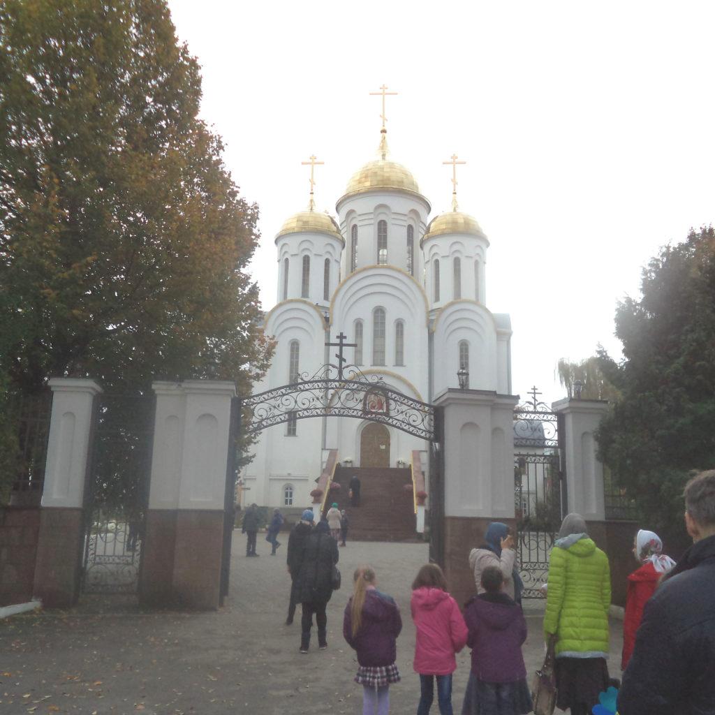 Прощальный акафист в кафедральном соборе Тернополя