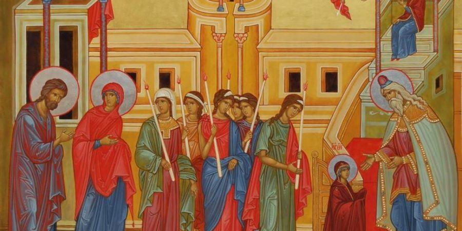 4 декабря мы празднуем Введение во храм Пресвятой Богородицы.
