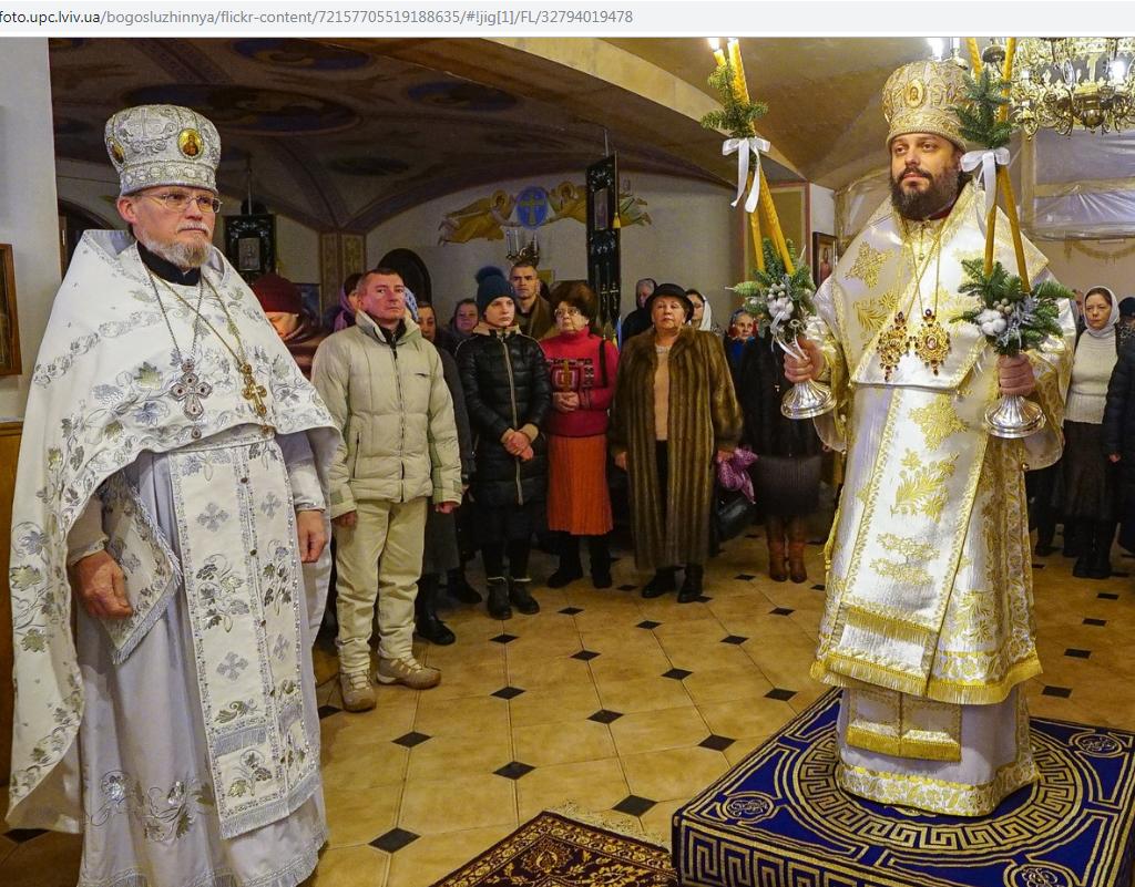 8 января - епископская служба