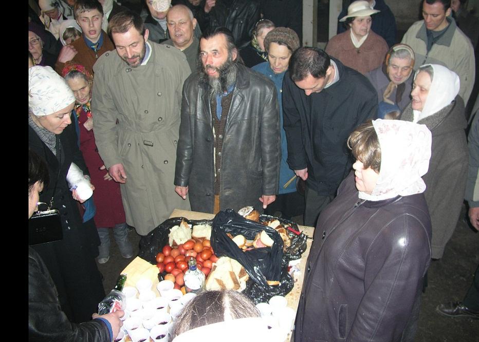 Пасхальная трапеза-2004.