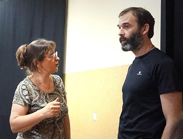 Режиссер и звукооператор