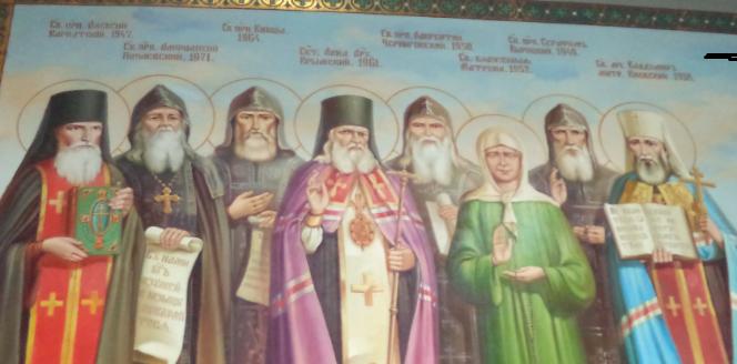 Апостол Карпатской Руси — преподобный Алексий Карпаторусский.
